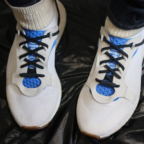 nouveaux styles 53fc0 01295 Alexander Wang x Adidas AW Run White/Blue
